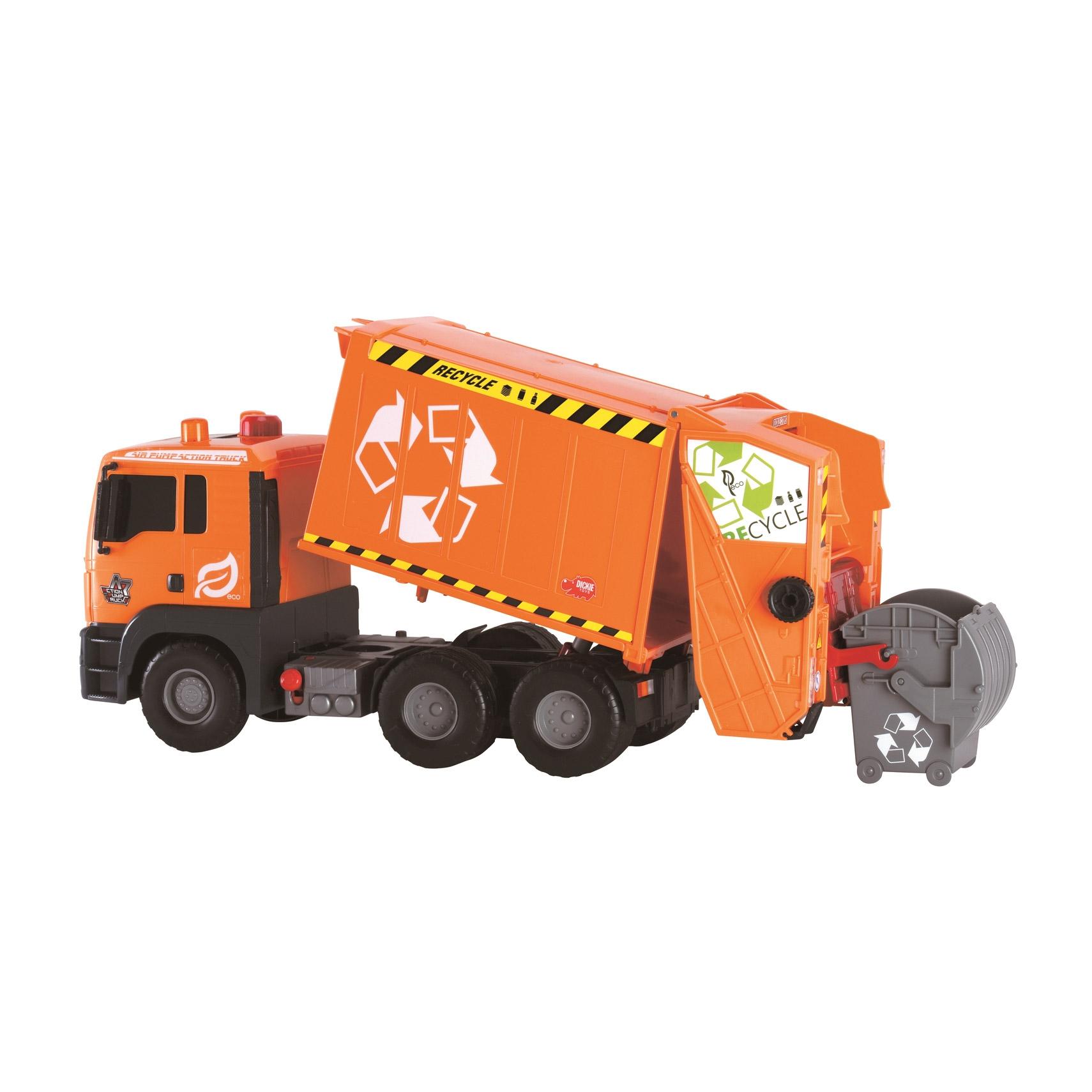 Мусоровоз Dickie MAN 55 см машина dickie мусоровоз 30 см