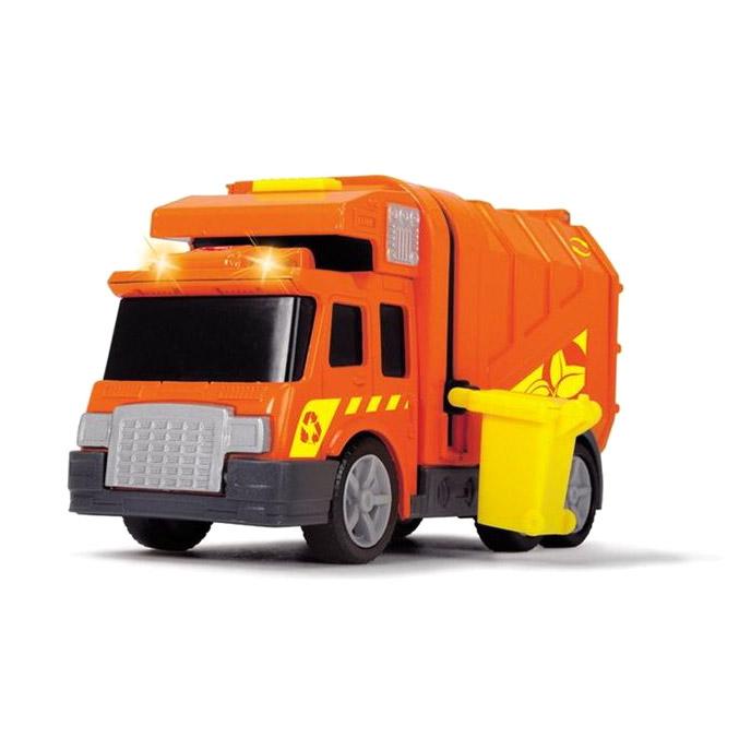 Машинка Dickie City Cleaner - Мусоровоз 15 см машина dickie мусоровоз 30 см
