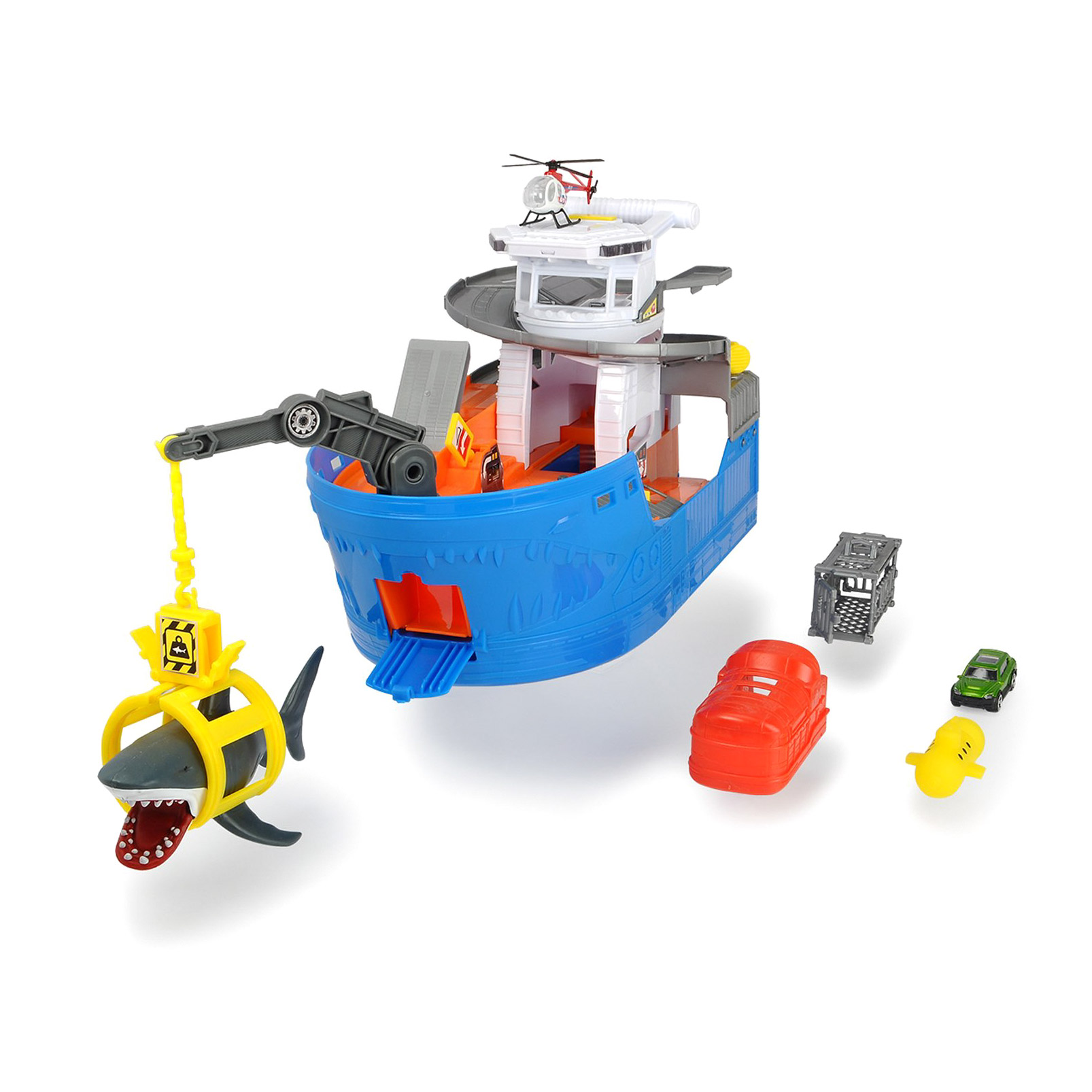 Набор игровой Dickie Toys Атака акулы 50 см dickie toys игровой набор dickie toys побег из тюрьмы свет звук