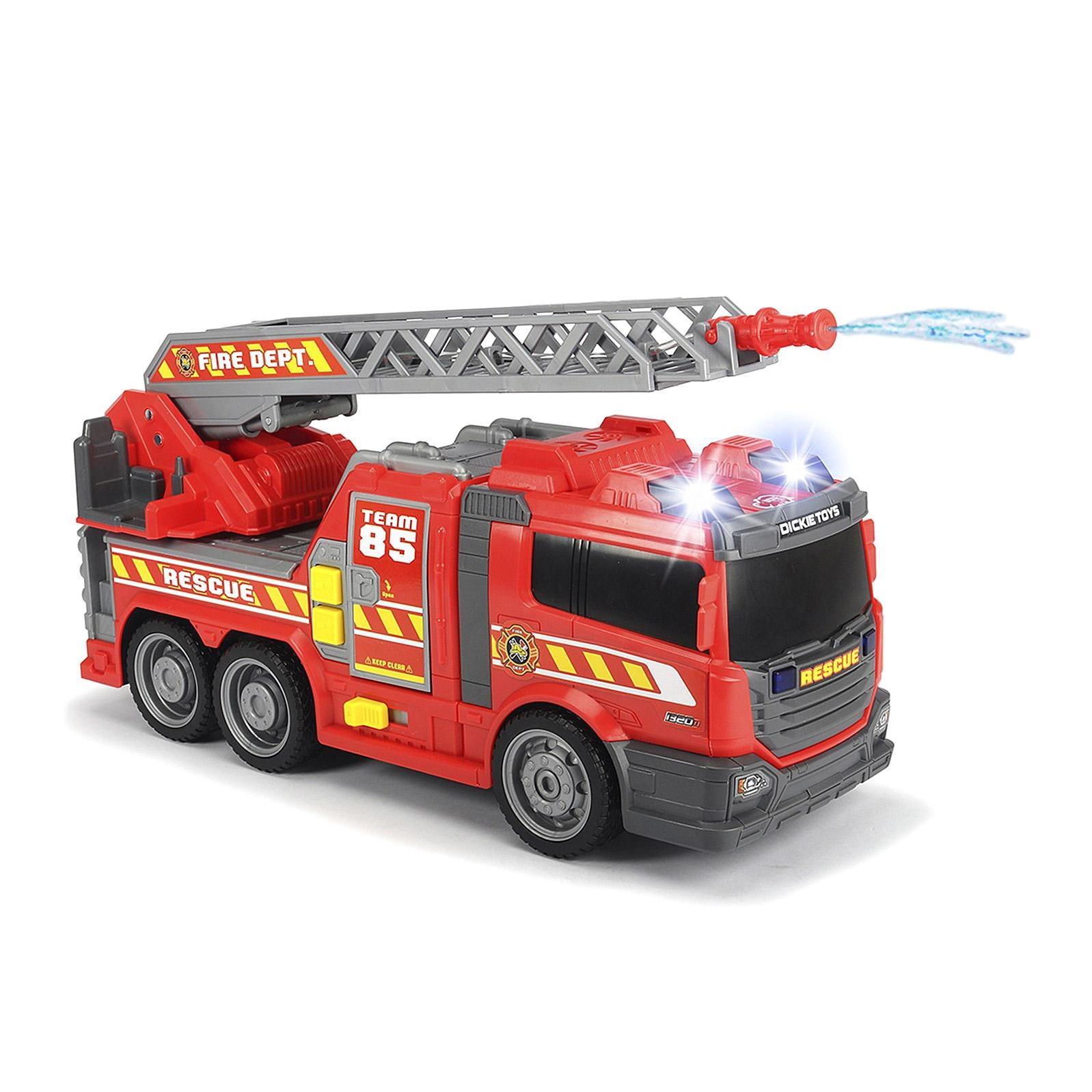 Машина Dickie пожарная с водяным насосом