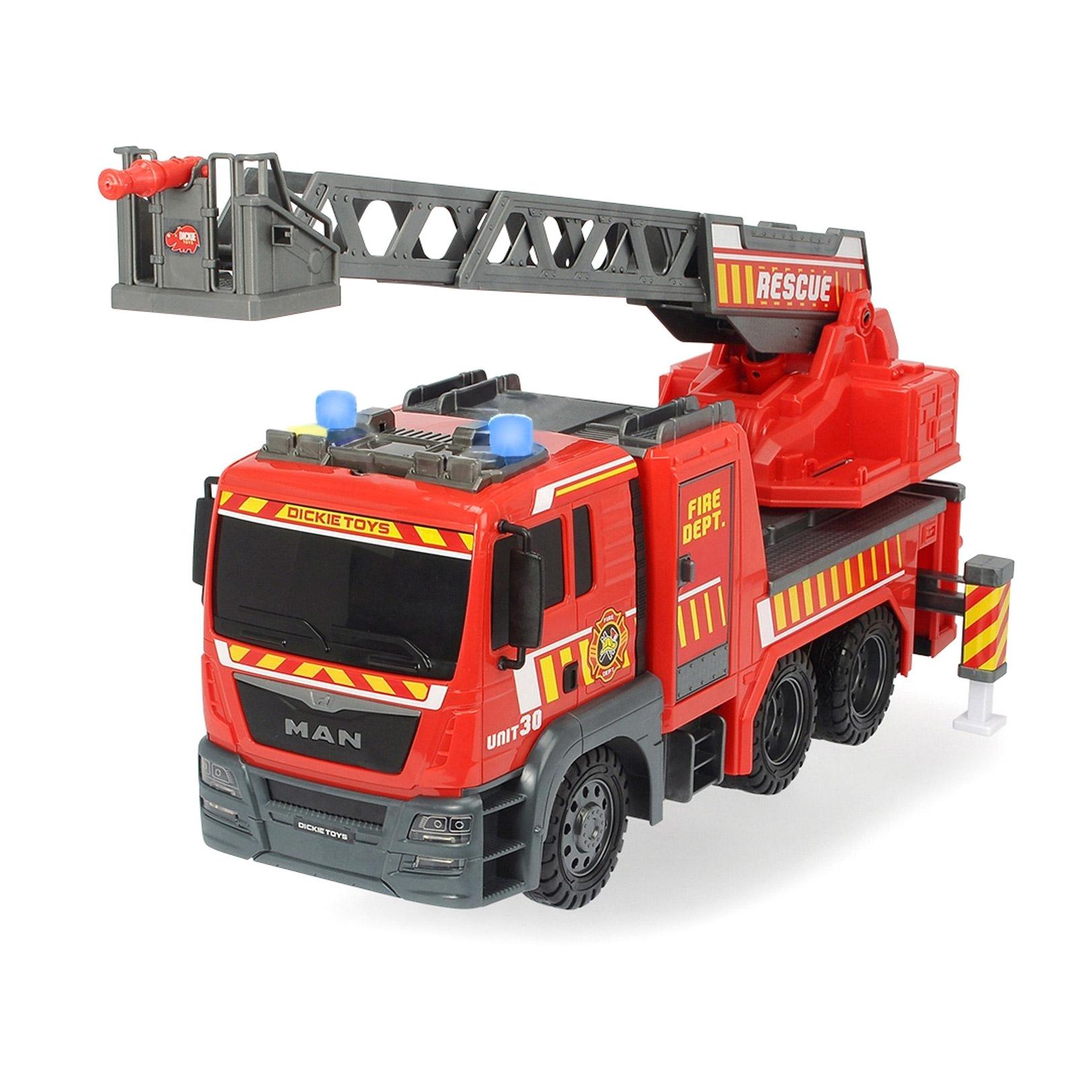 Машина Dickie Пожарная MAN 54 см машина dickie мусоровоз 30 см