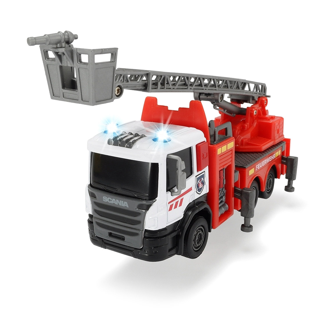 Машина пожарная Dickie SCANIA 17 см машина dickie мусоровоз 30 см
