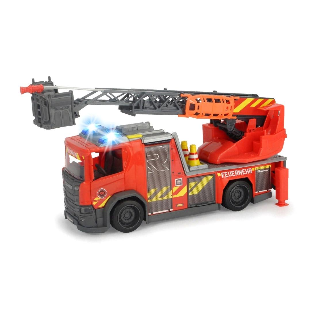 Пожарная машина Dickie Toys Scania 35 см машина dickie мусоровоз 30 см
