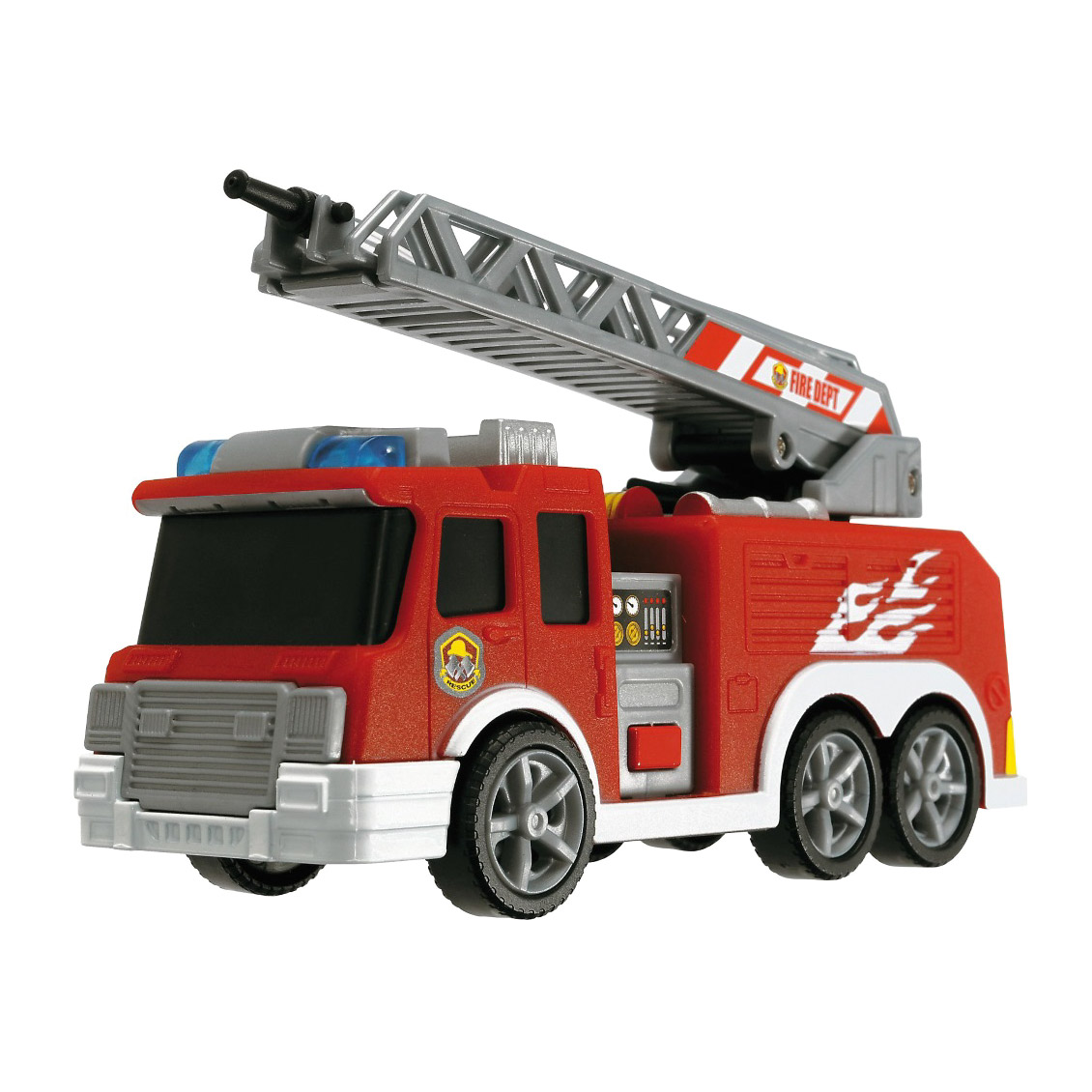 Пожарная машина инерционная Dickie с водой 15 см