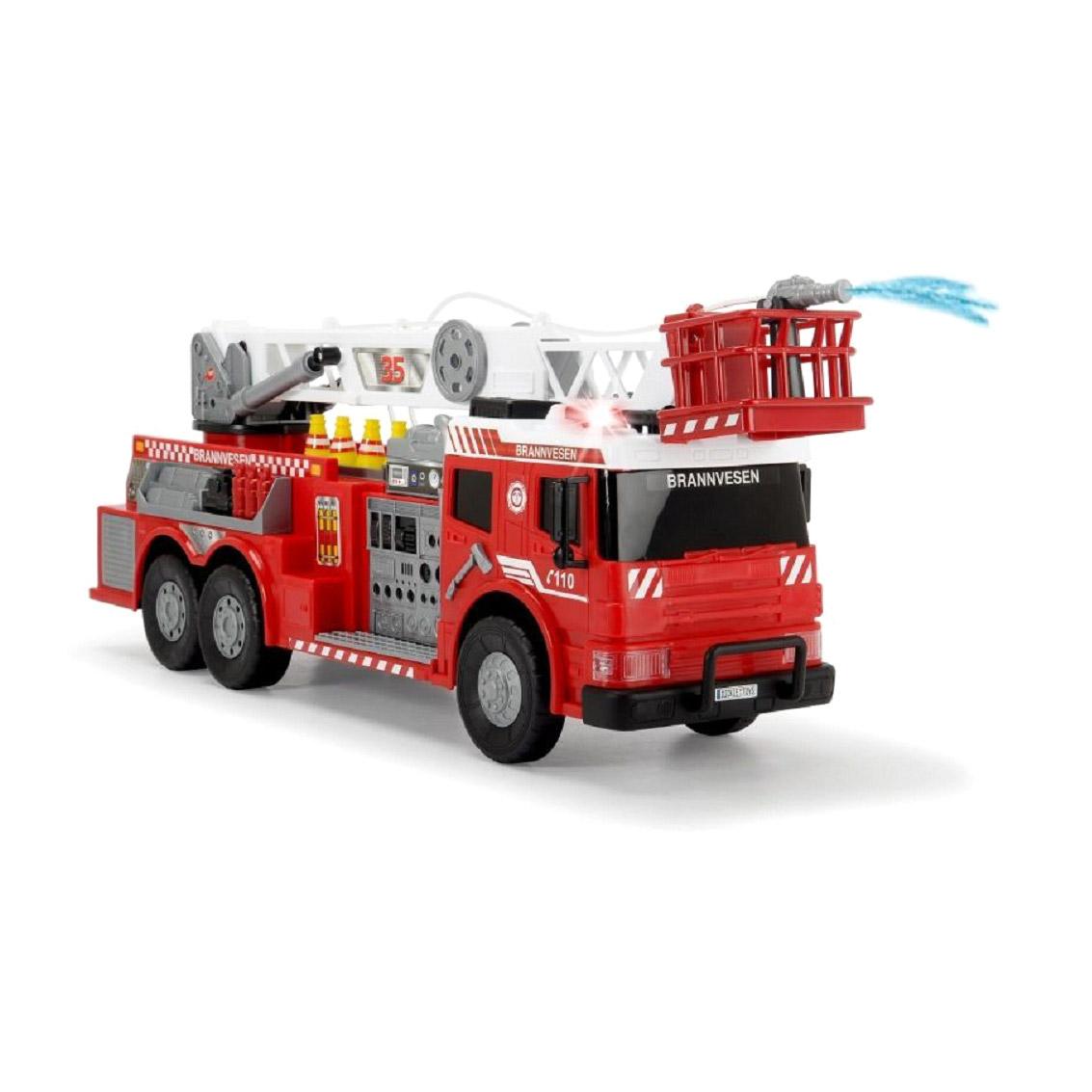 Пожарная машина Dickie Toys 62 см машина dickie мусоровоз 30 см