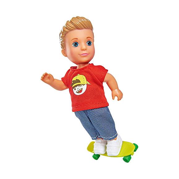 Кукла Тимми скейтбордист 12 см