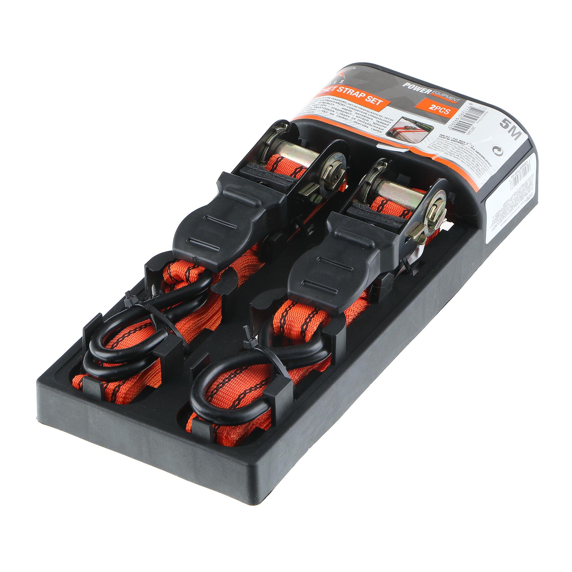 Ремни багажные такелажные Koopman 2 шт 2.5х500см