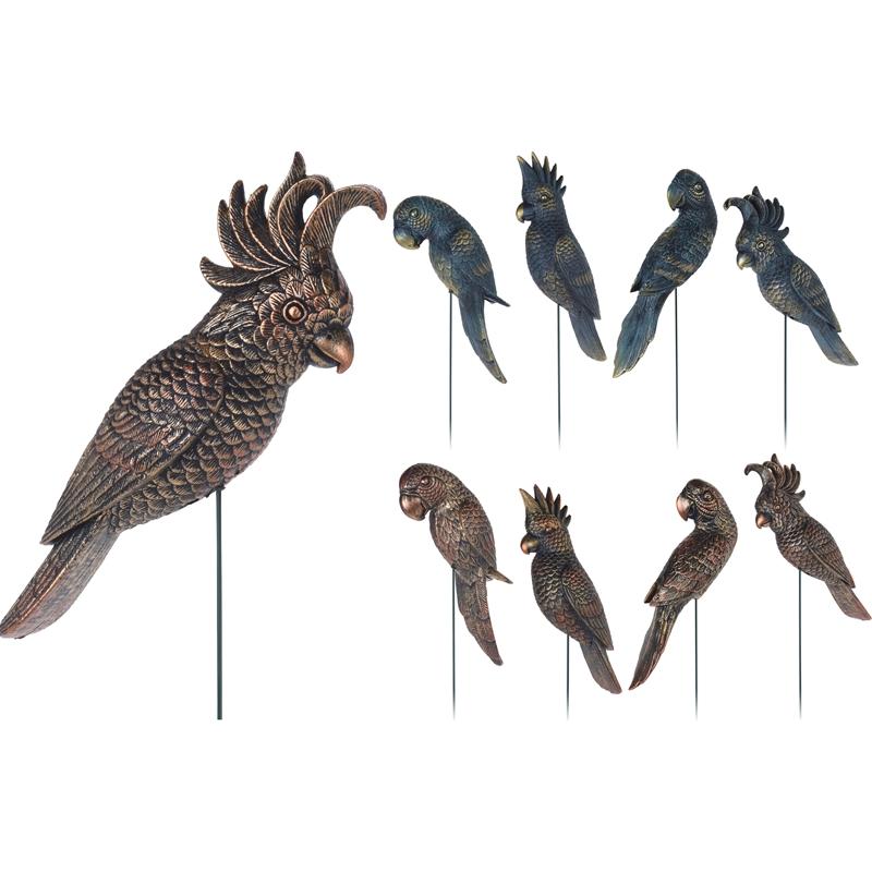 Декор садовый Koopman garden попугай штекер16,5x8x72 см