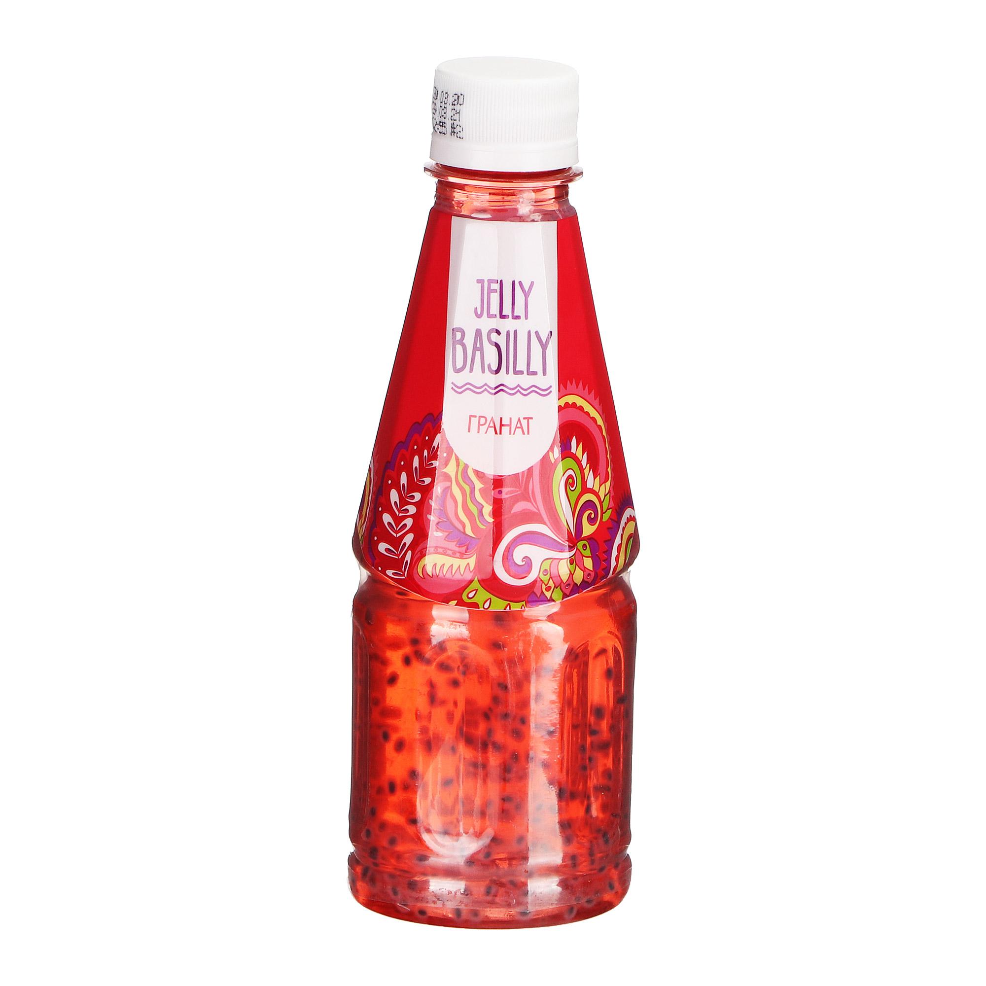 Напиток Jelly Basilly Базилик, гранат 300 мл