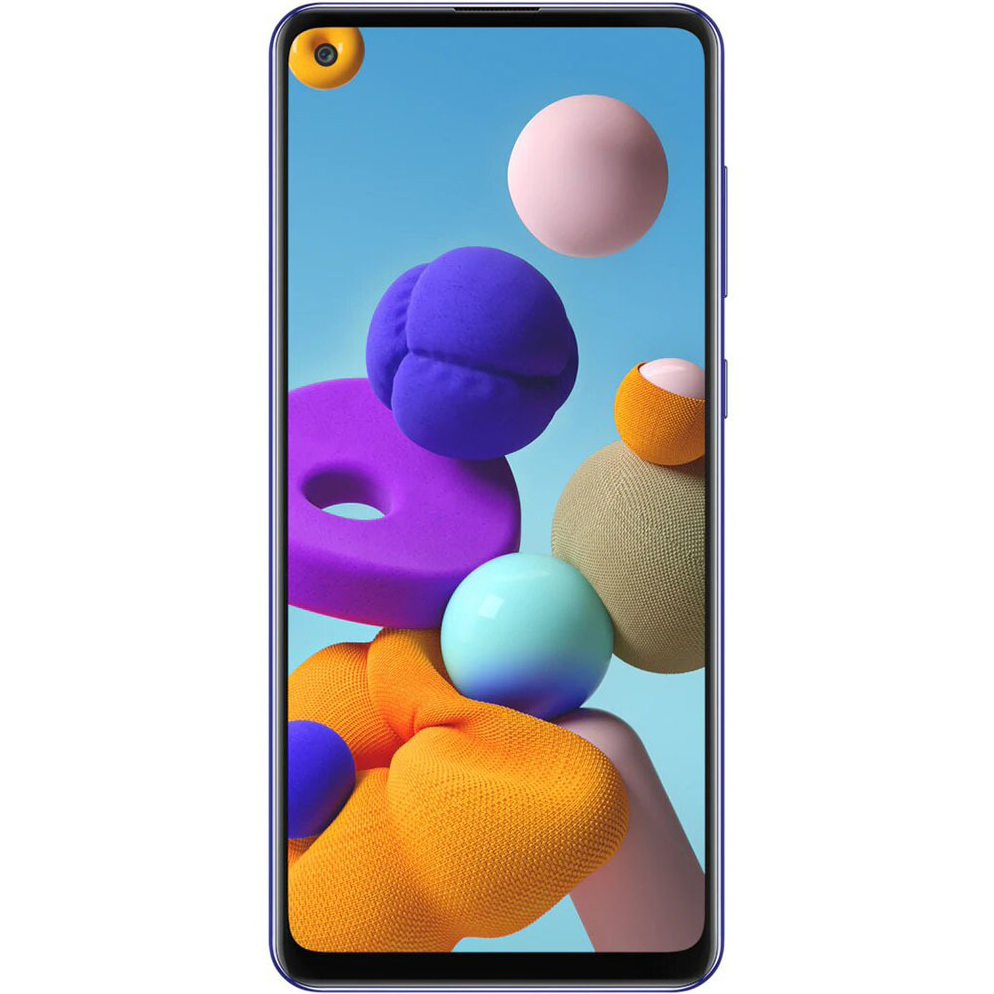 фото Смартфон samsung galaxy a21s 64 gb blue