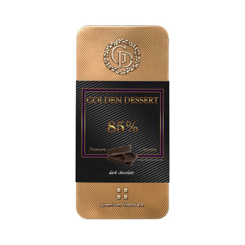 Шоколад GOLDEN DESSERT горький 85% 100 г