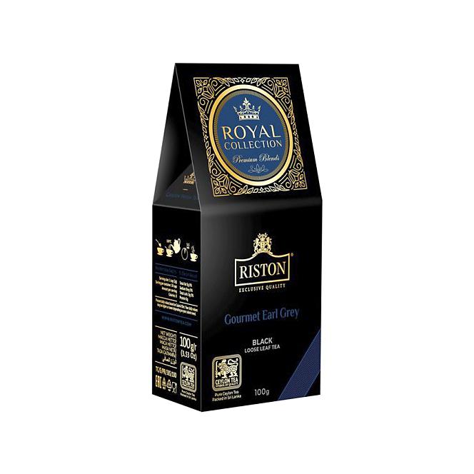 Фото - Чай черный Riston Royal Collection Gourmet Earl Grey 100 г чай черный twinings earl grey 100 г