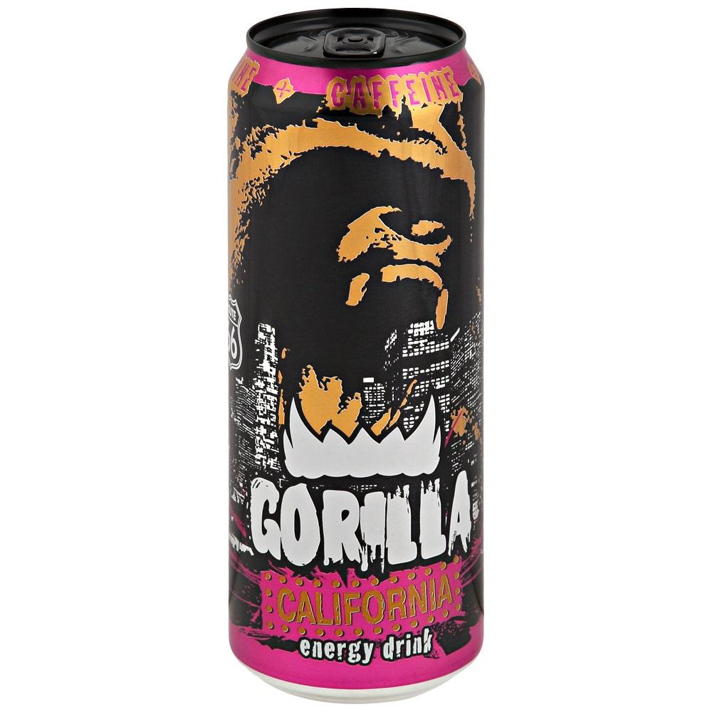 Напиток энергетический Gorilla Калифорния  045 л.
