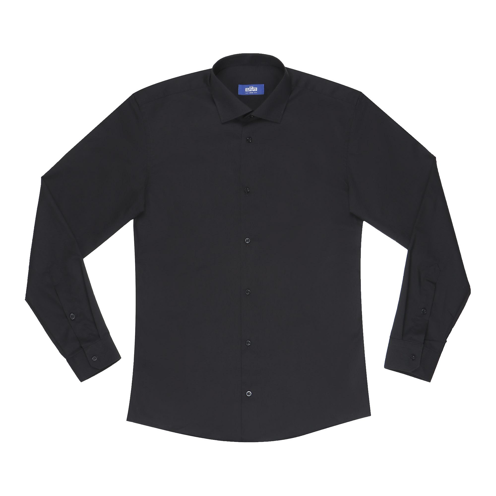 Сорочка мужская Elita 41S 176-182 черная