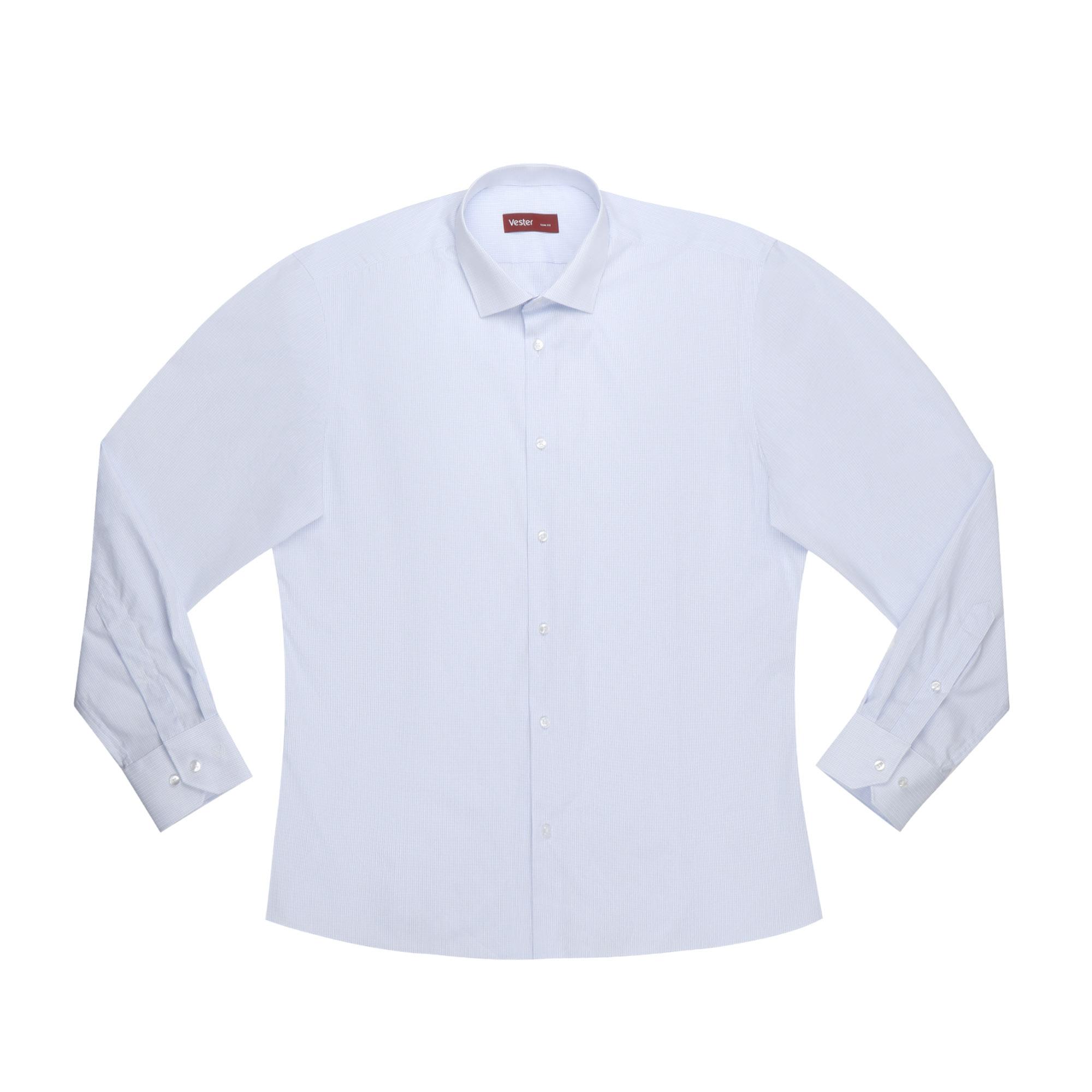Сорочка мужская Vester 68814 45C 182-188 сорочка мужская vester 43с 182 188 небесно голубая