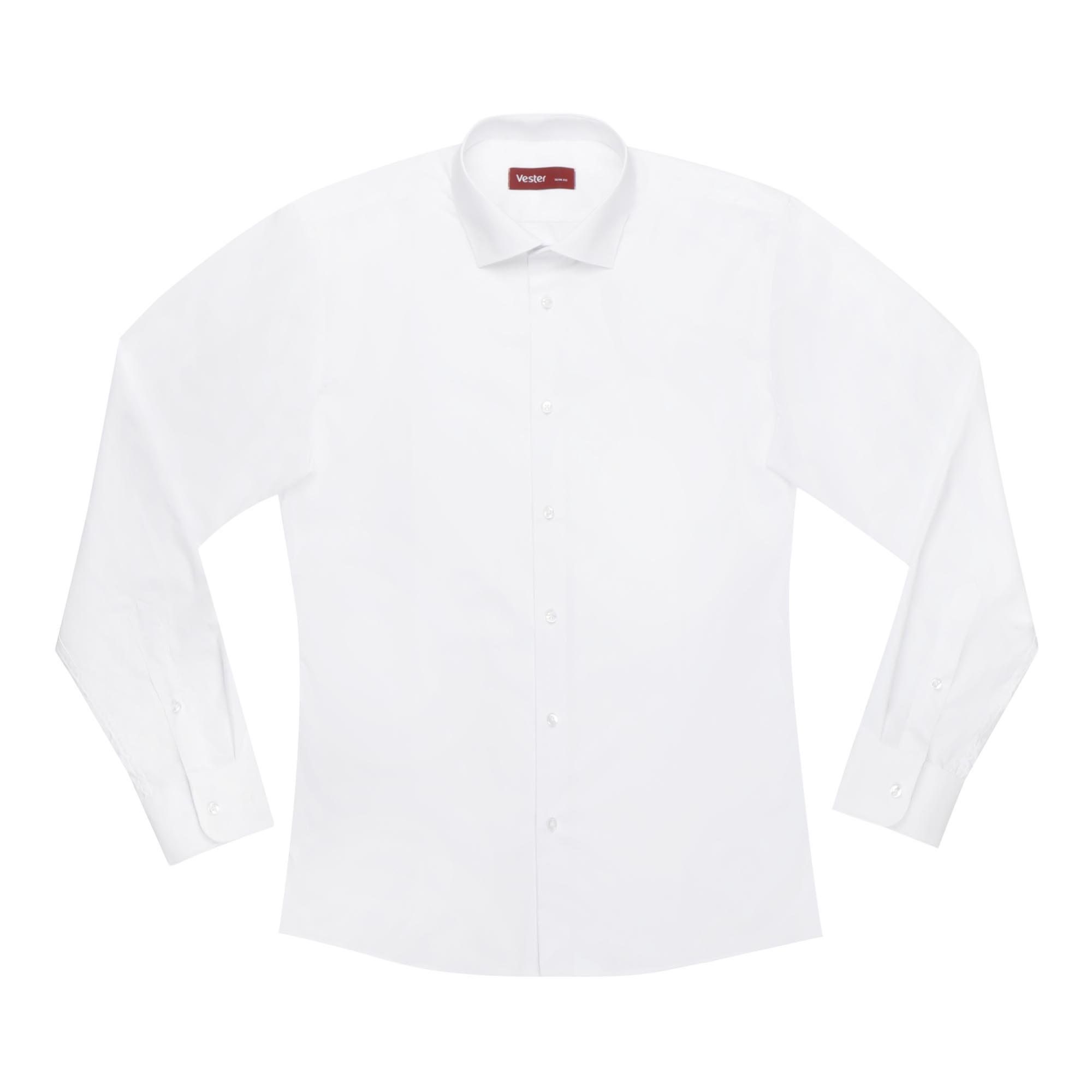 Сорочка мужская Vester 70714 43S 176-182 белая фото