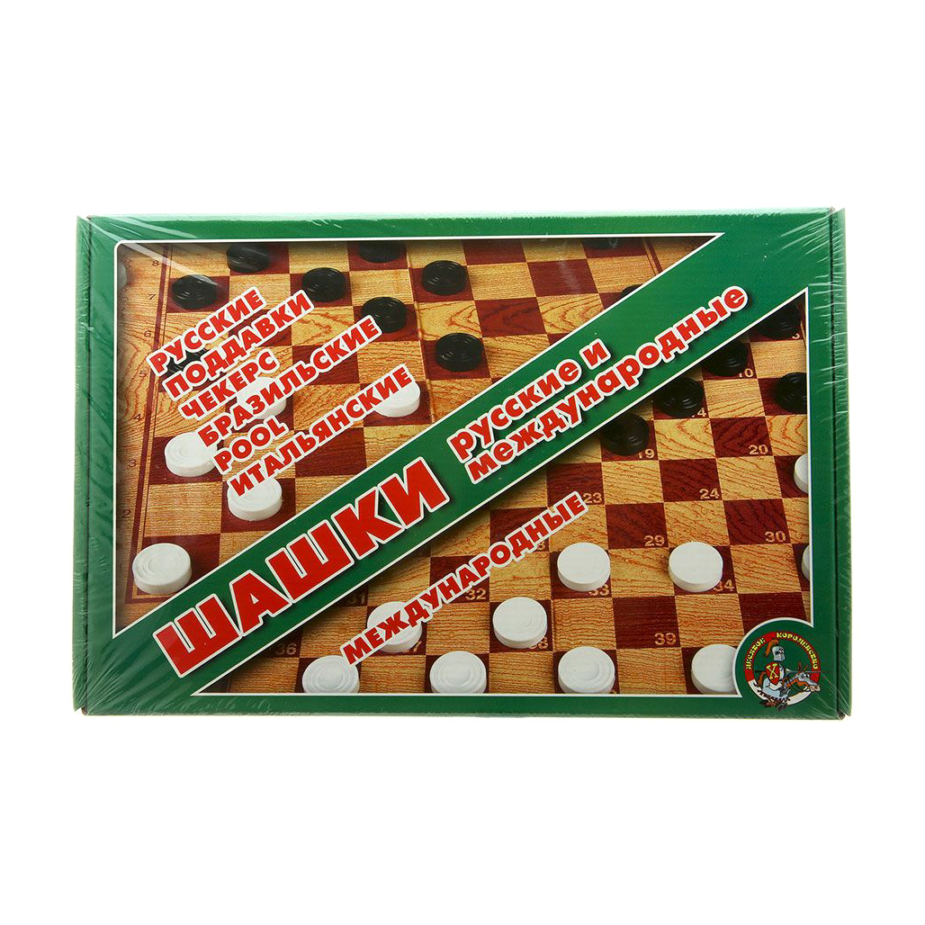 Настольная игра Десятое королевство Большие шашки десятое королевство td00995 игра настольная космобой