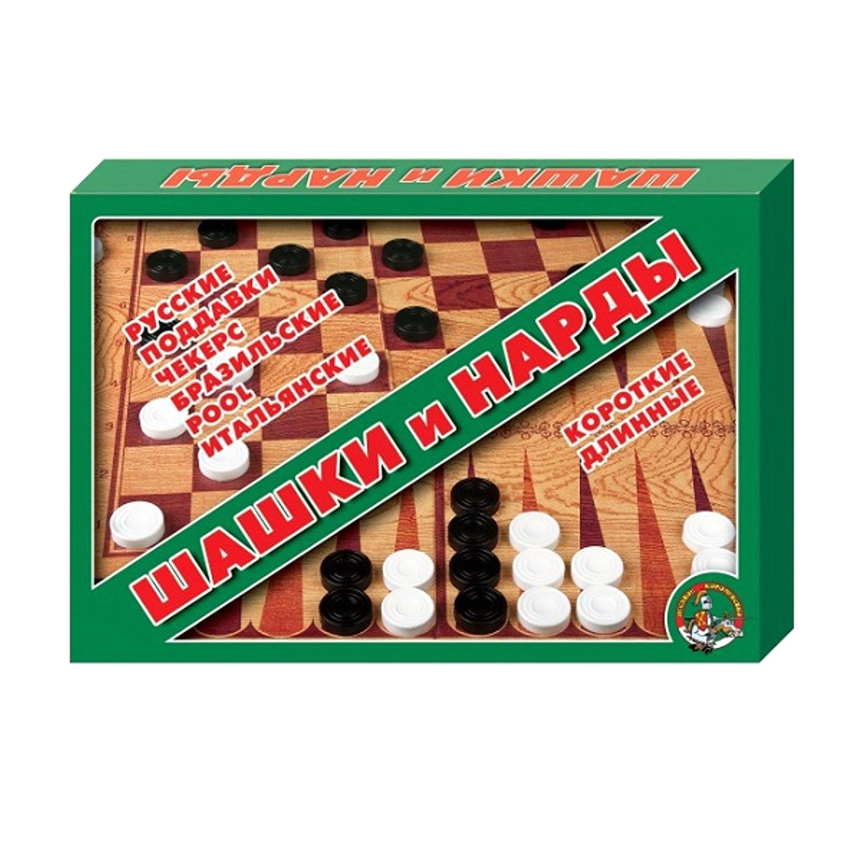 Настольная игра Десятое королевство Шашки нарды большие десятое королевство td00995 игра настольная космобой