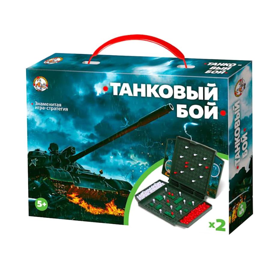 Настольная игра Танковый бой мини