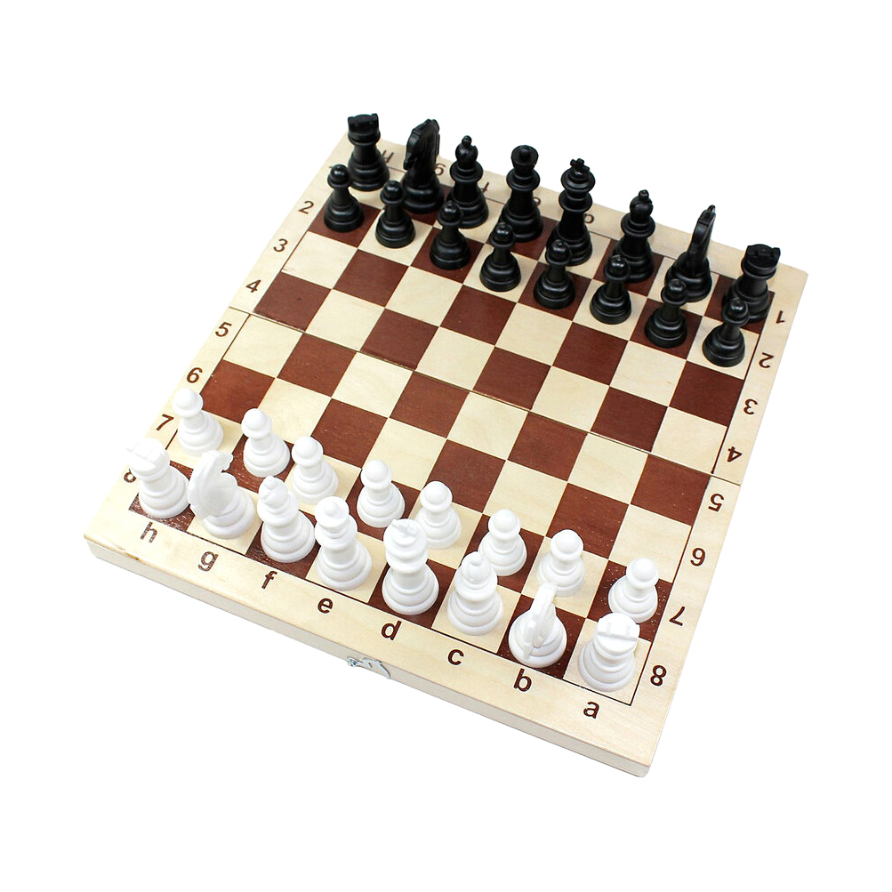 Настольная игра Десятое королевство Шахматы пластмассовые 29x29 см десятое королевство td00995 игра настольная космобой