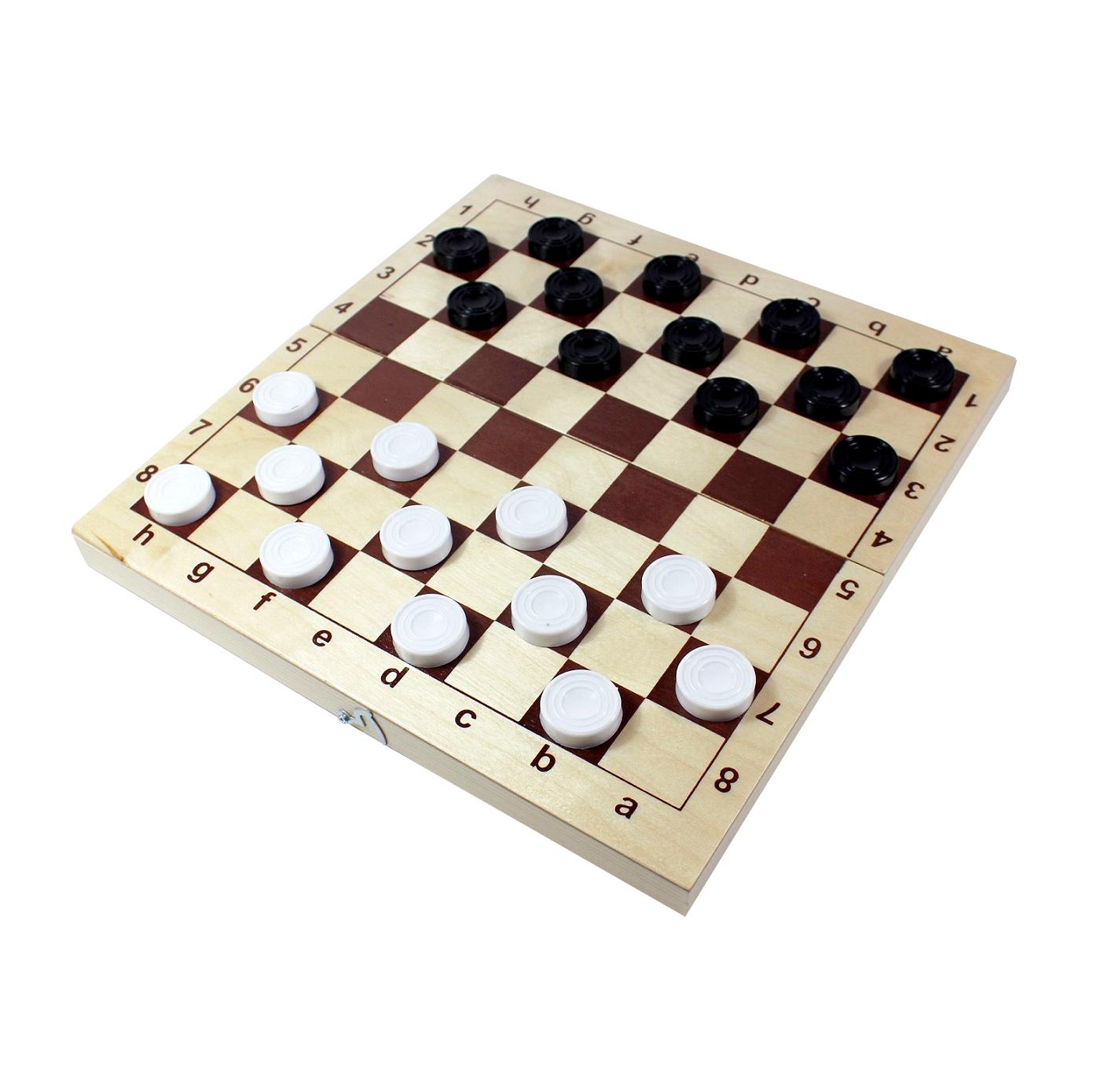 Настольная игра Десятое королевство Шахматы и шашки пластмассовые 29x29 см десятое королевство td00995 игра настольная космобой