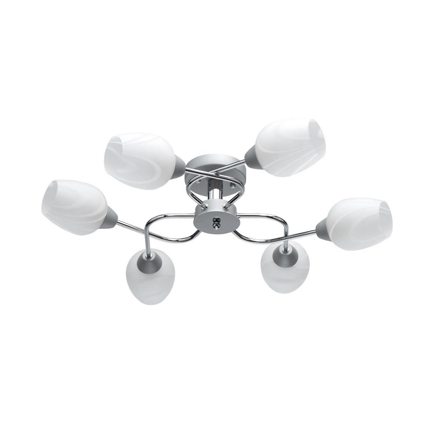 Потолочная люстра MW-Light Олимпия 638018506 люстра потолочная mw light букет 421013406 6 40 w е14 220 v