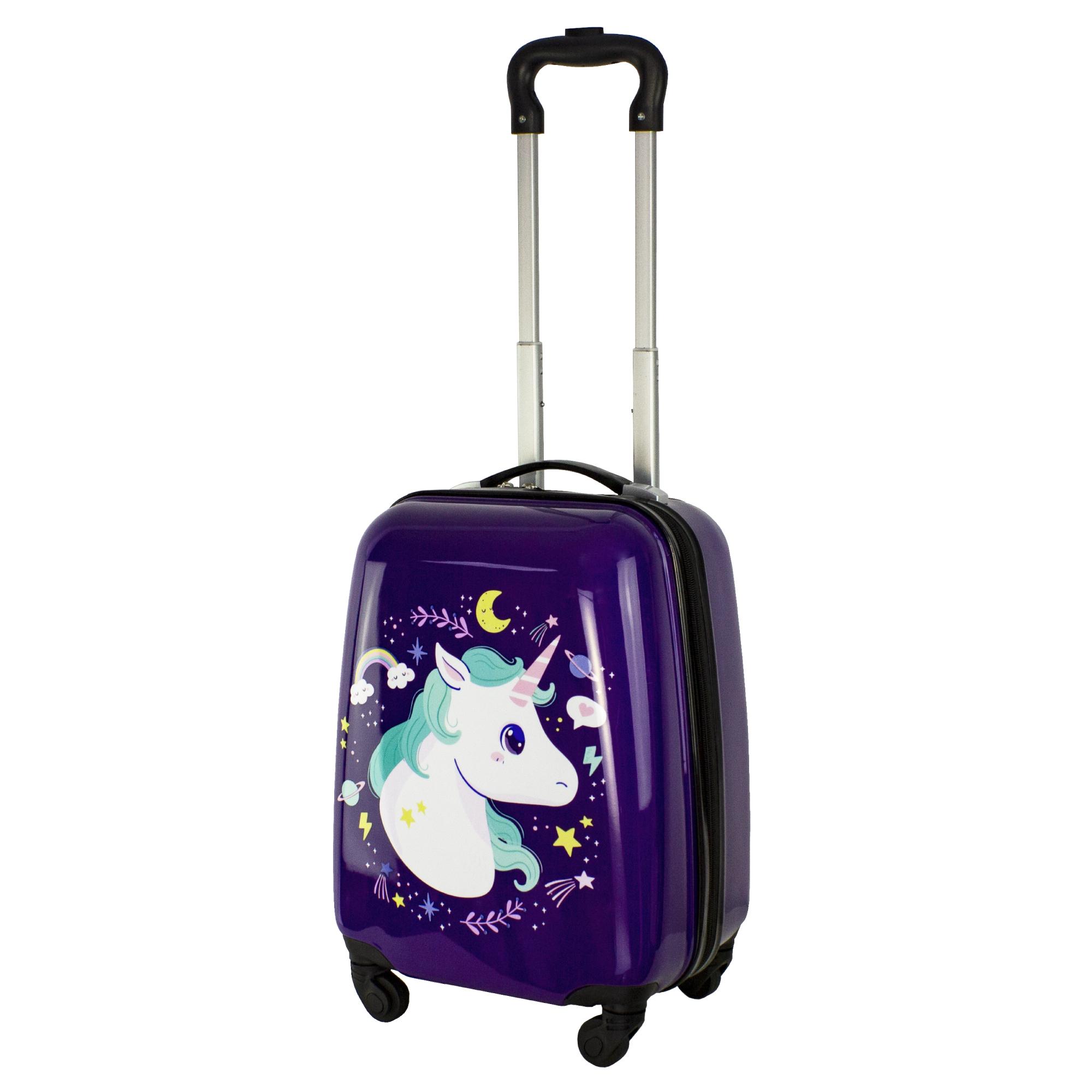 Чемодан Proffi Travel Лошадки 41х31х21 см чемодан proffi travel proffi travel mp002xu02him