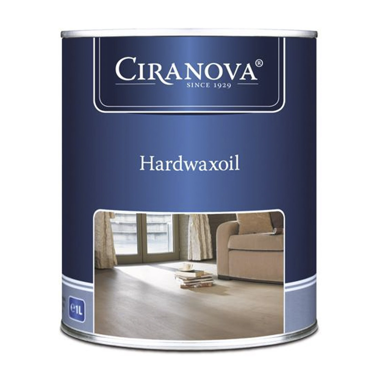 Масло воск Ciranova Hardwaxoil для паркетных полов коричневое 1 л фото
