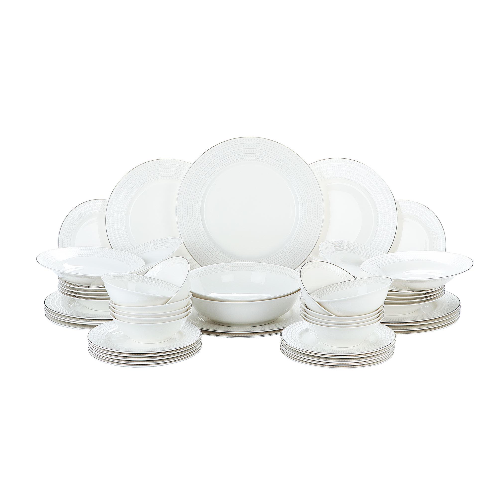 Сервиз столовый Macbeth bone porcelain Festive 51 предмет