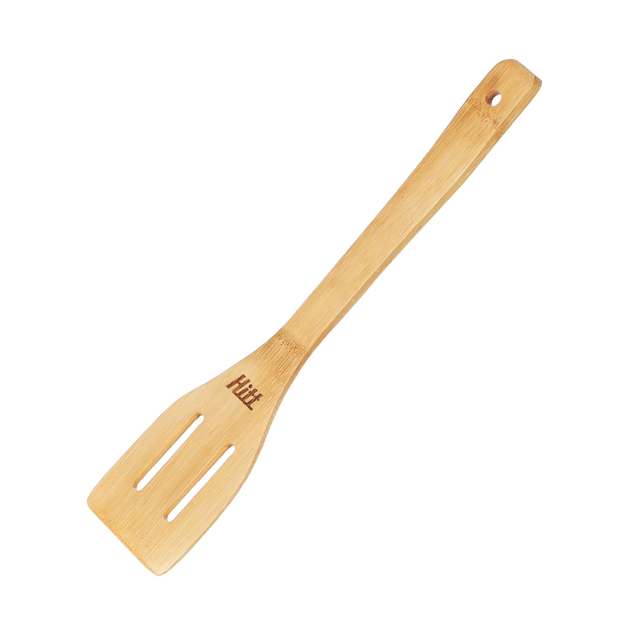 Лопатка бамбуковая Hitt Lifecare с прорезями