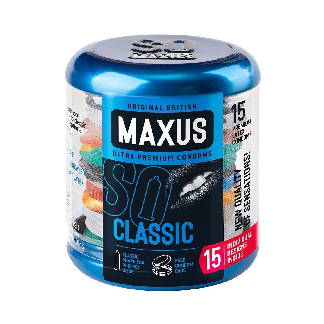 Презервативы Maxus Classic 15 шт