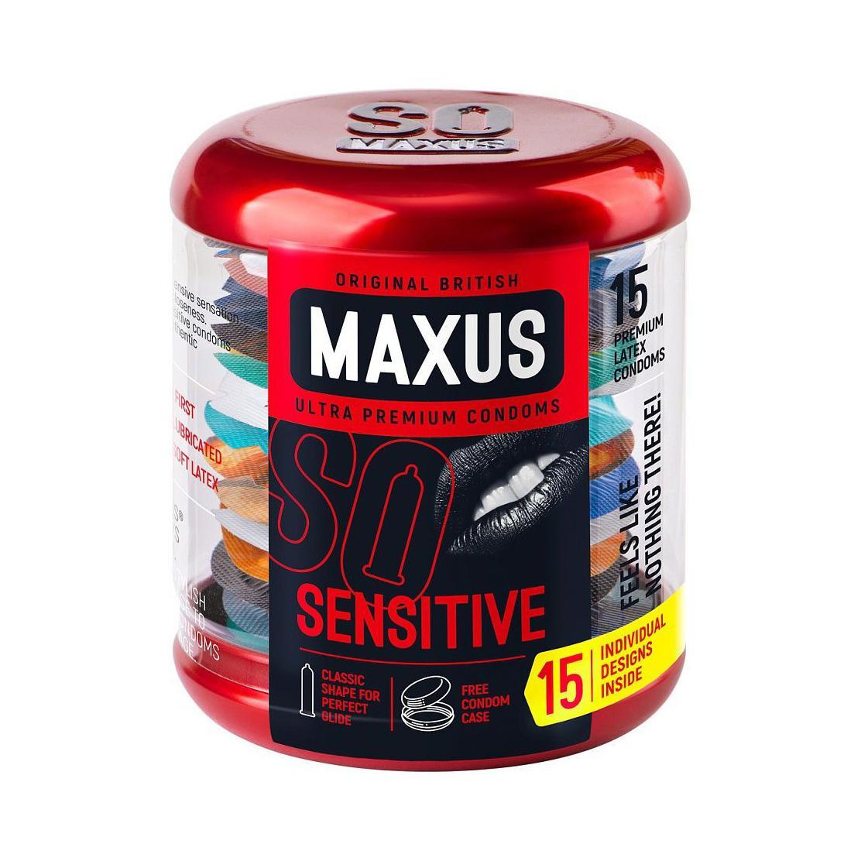 Презервативы Maxus Sensitive ультратонкие 15 шт