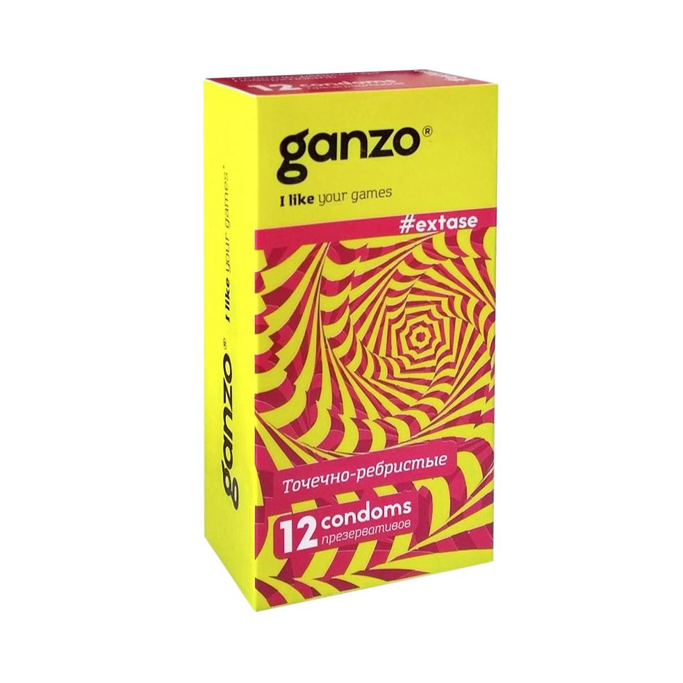 Презервативы Ganzo New Extase 12 шт