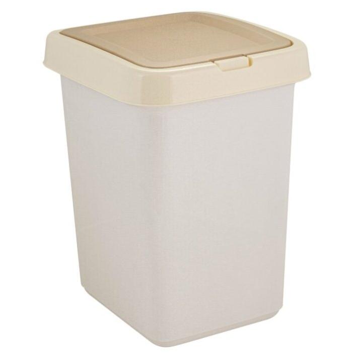 Контейнер для мусора Svip Квадра кофейный 25 л.