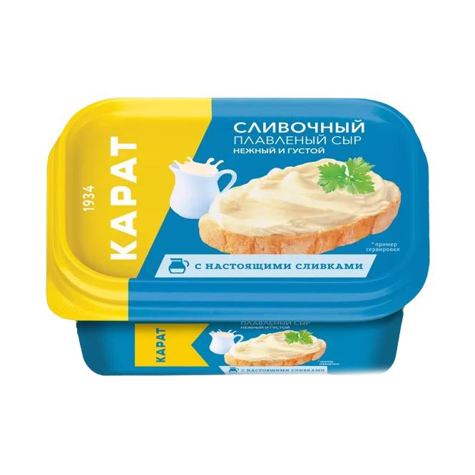 Сыр плавленый Карат 45% 400 г сыр плавленый карат янтарь 45% 400 г
