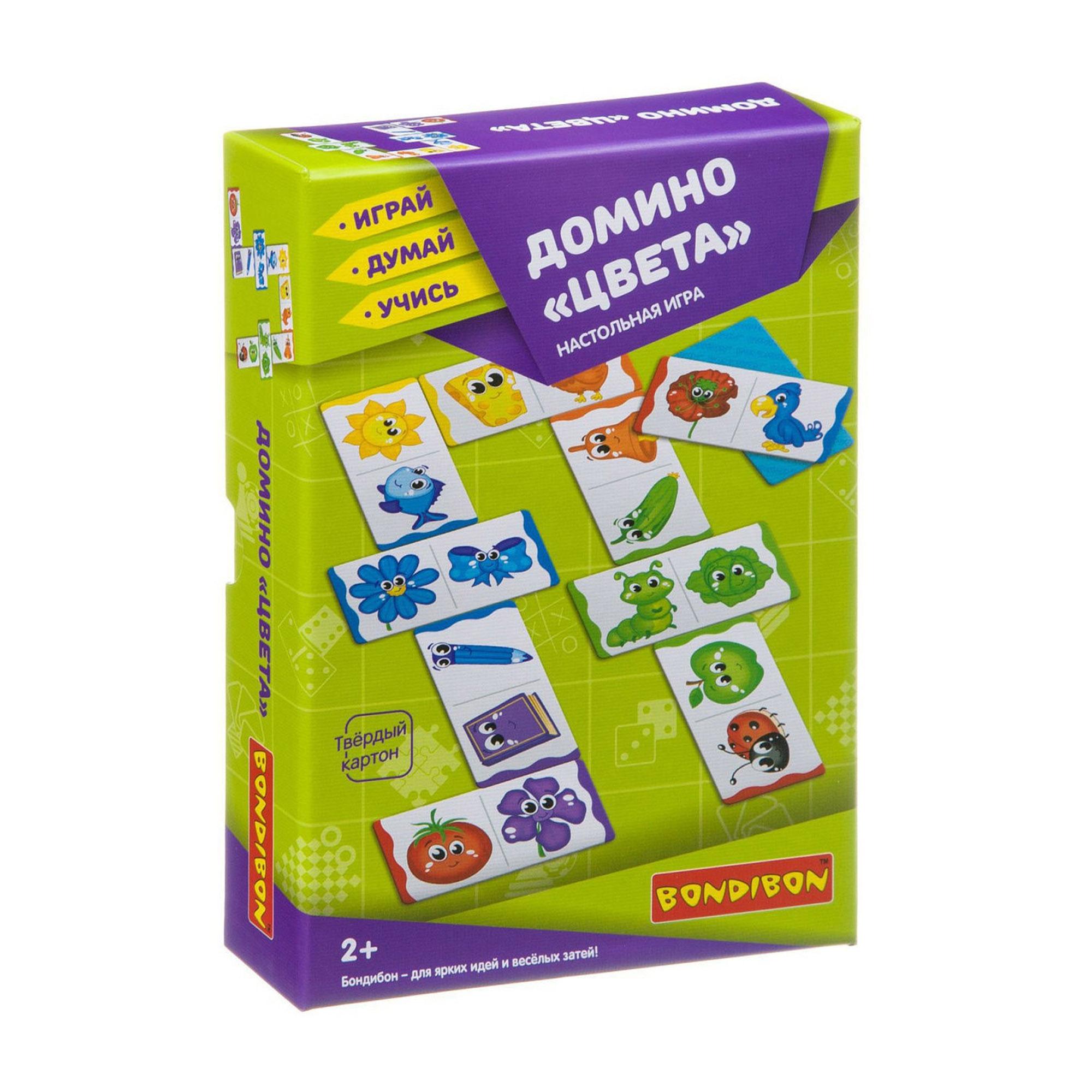 Настольная игра BONDIBON Домино Цвета