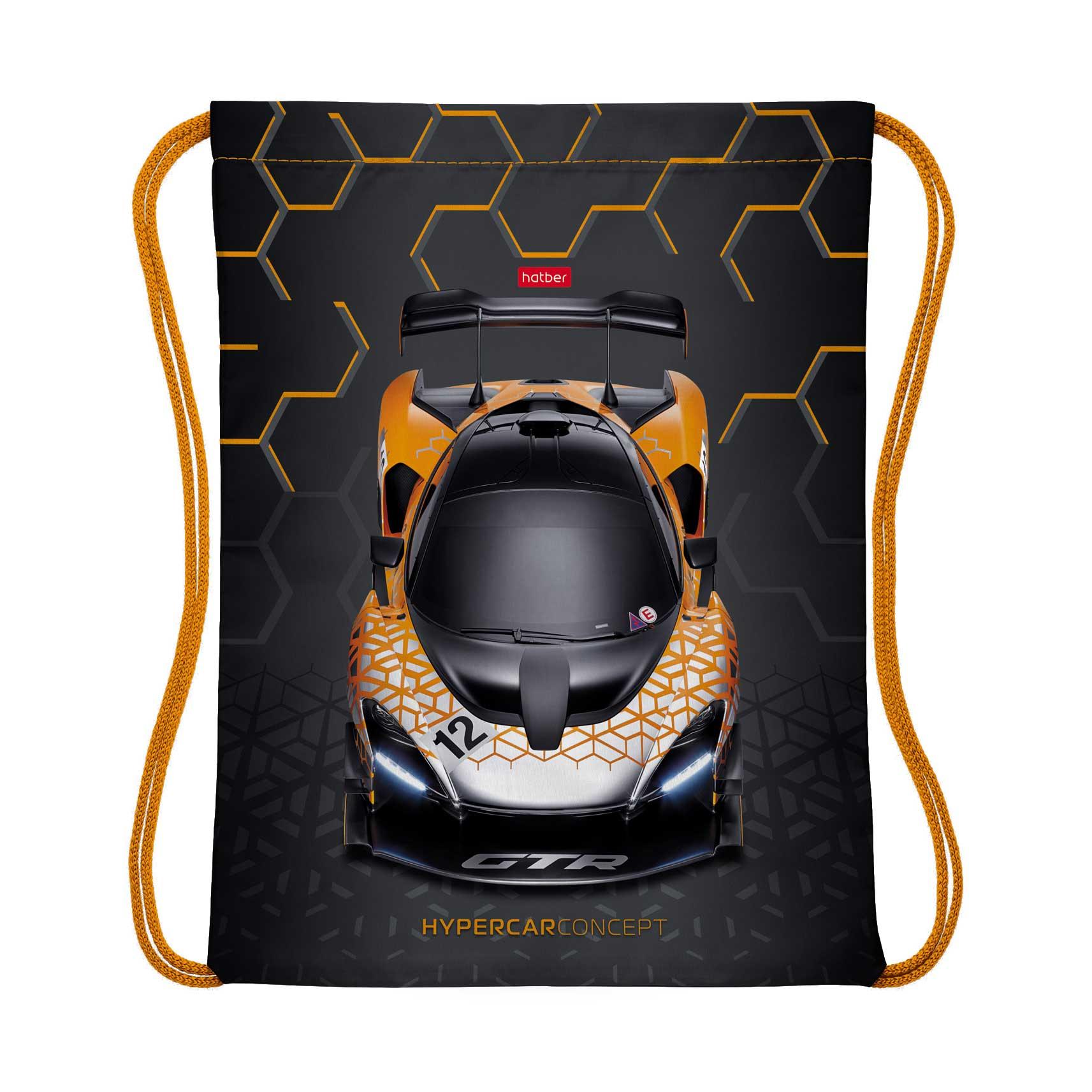 Мешок для сменной обуви Hatber Hypercar 33x42 см