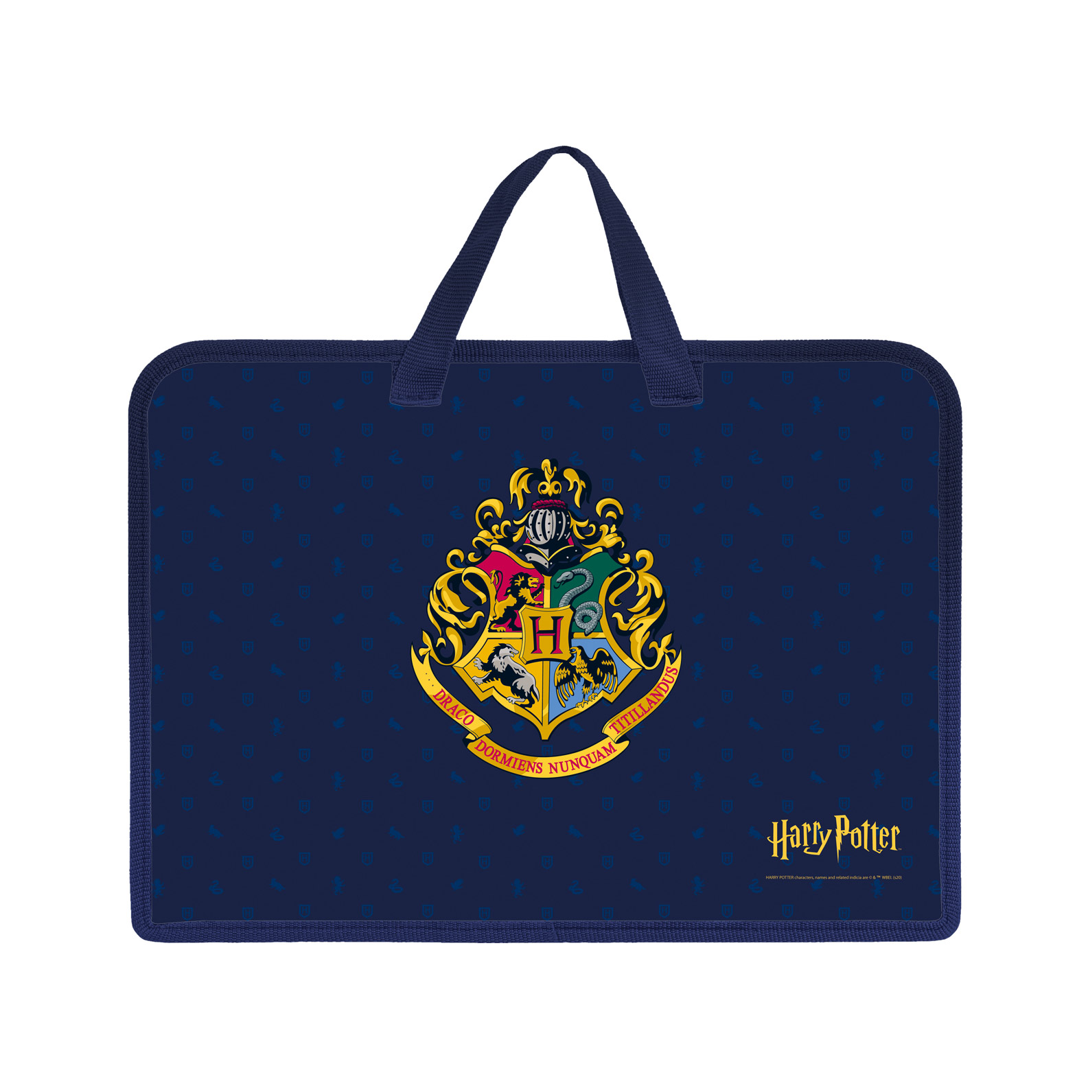 Папка для тетрадей на молнии А4 Hatber Гарри Поттер 1 отделение с ручками недорого