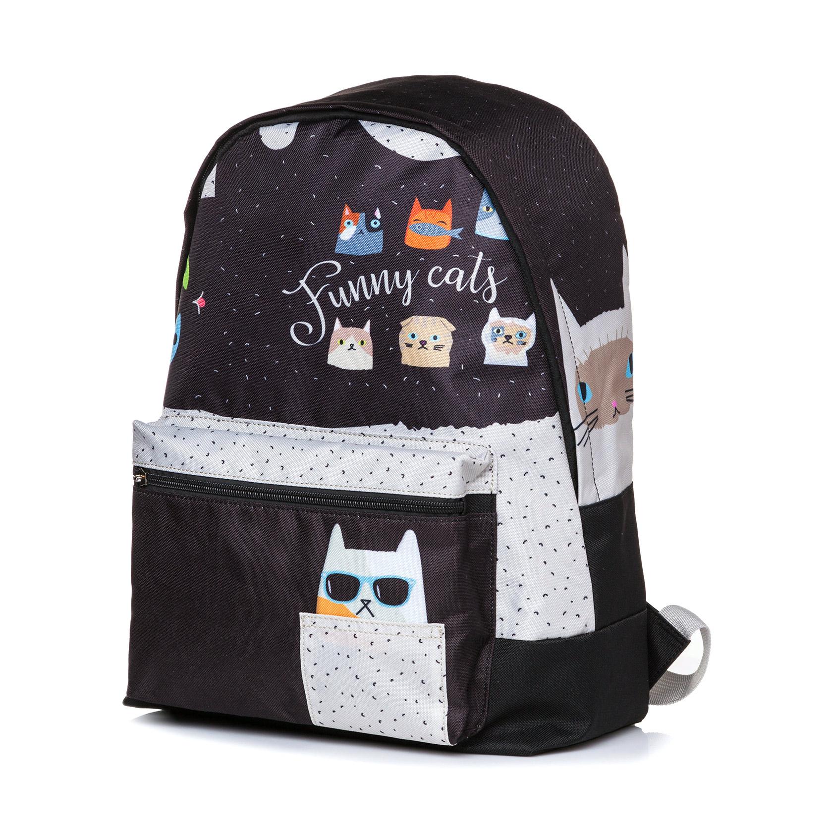 Рюкзак Hatber BASIC Funny cats 41x30x13 см