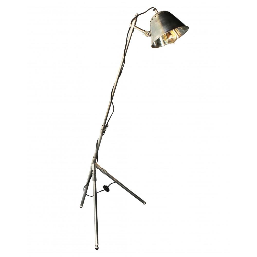 Лампа напольная торшер Ковали.ру латунь 21x62x146
