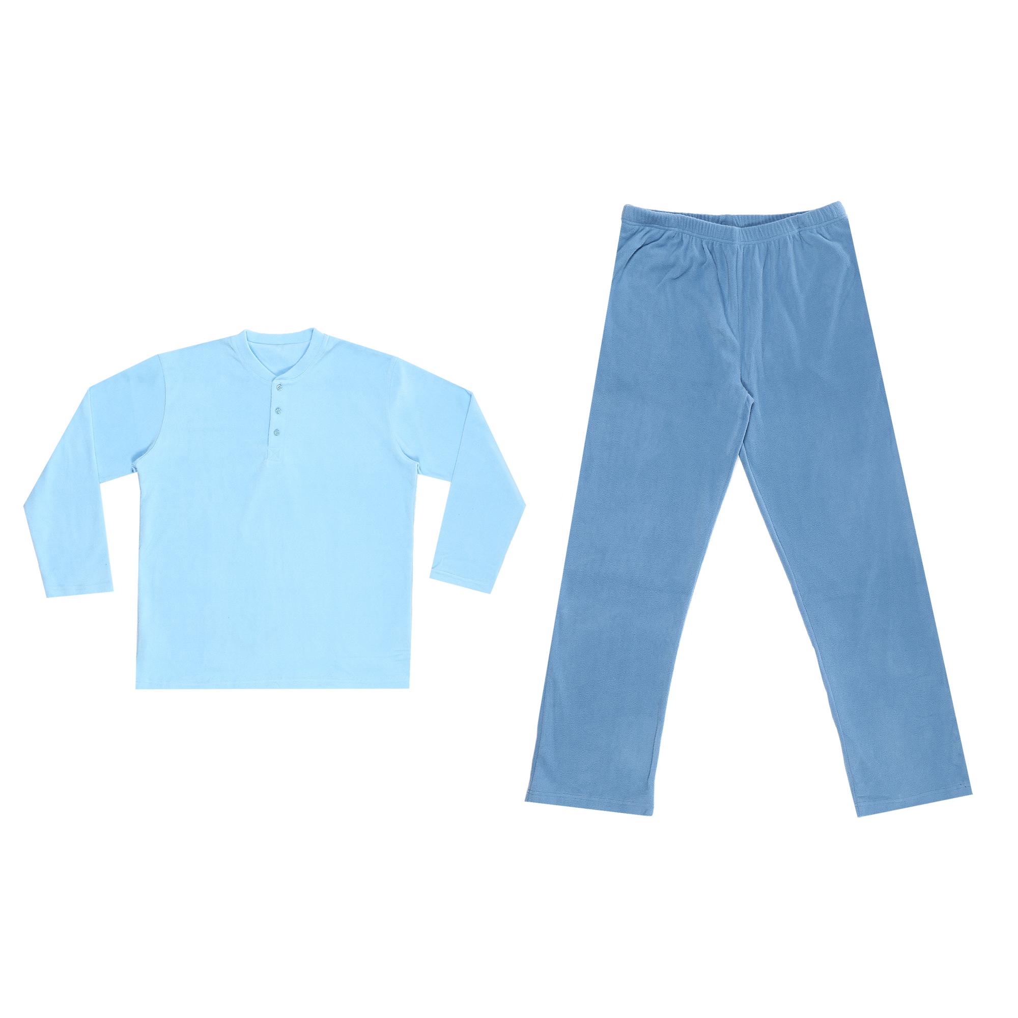 комплект домашний мужской vienetta s secret league капри футболка цвет сапфировый 711124 3286 размер 50 xl Домашний мужской костюм Xiamen Honesty MP-109 синий XL