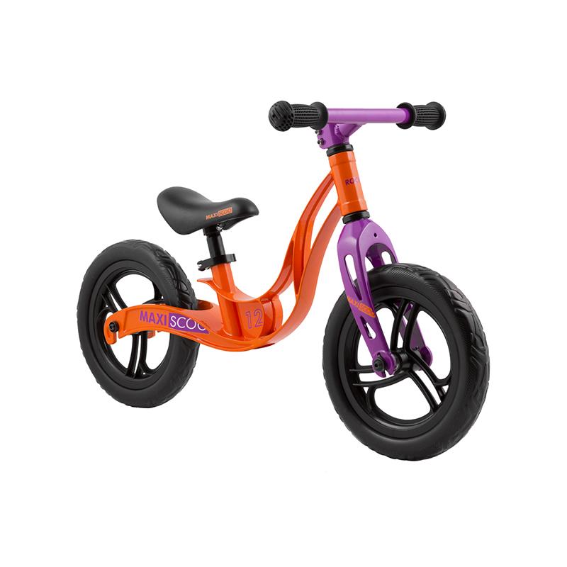 Беговел детский Maxiscoo колеса 12 оранжевый (msc-r1204-s)