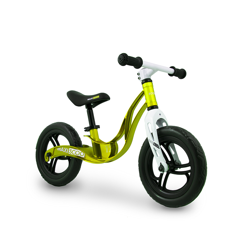 Беговел детский Maxiscoo колеса 12 салатовый (msc-r1203)