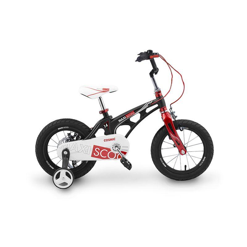 Велосипед детский Maxiscoo черный матовый (msc-c1401) фото