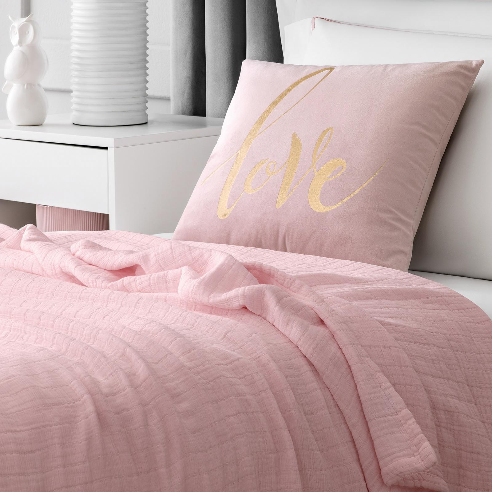Фото - Покрывало Togas Трейси розовое 100х140 см коврик для ванной togas дорис розовое 60x90