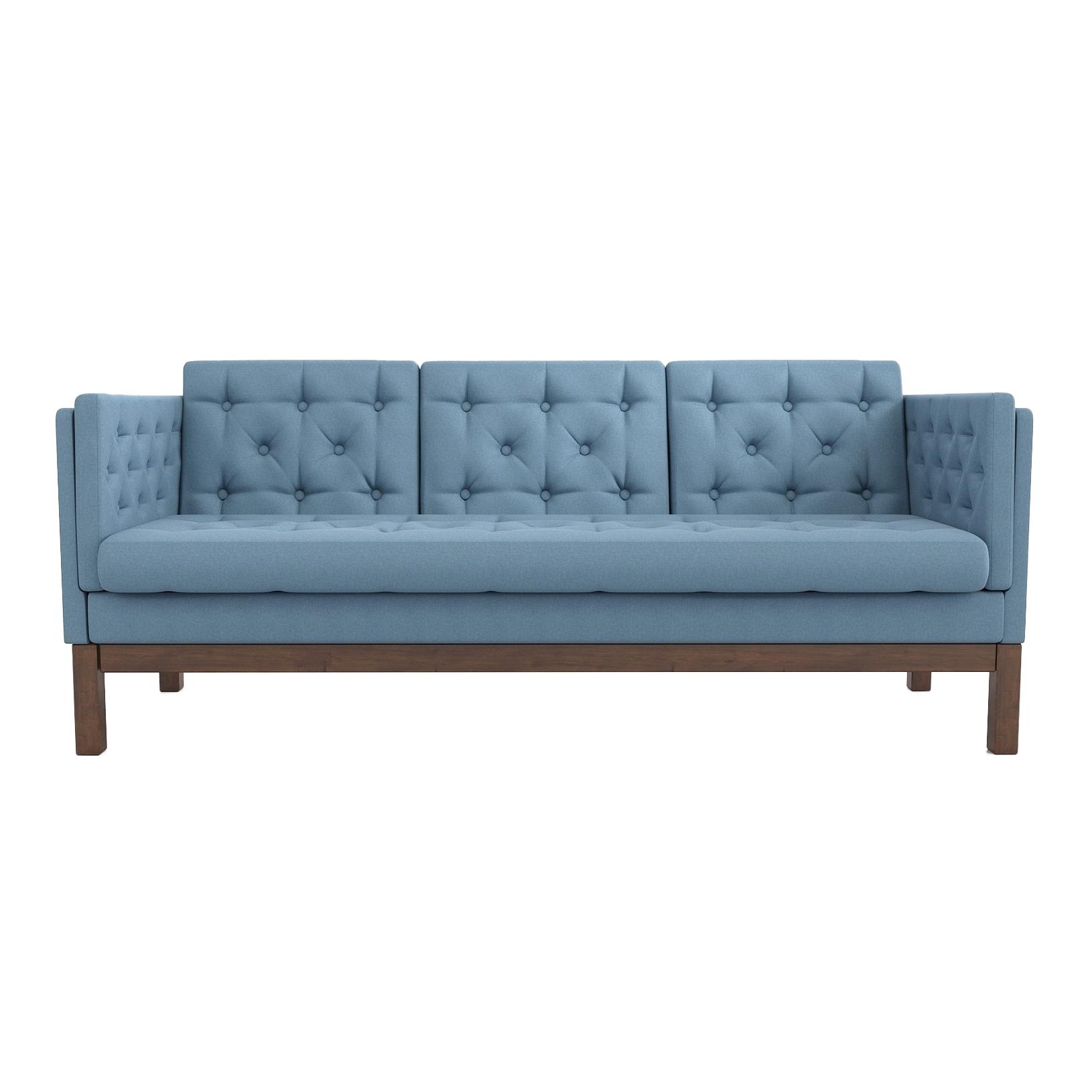 Фото - Диван AS Алана б 193x82x83 орех/голубой диван as алана м 154x82x83 сосна коричневый