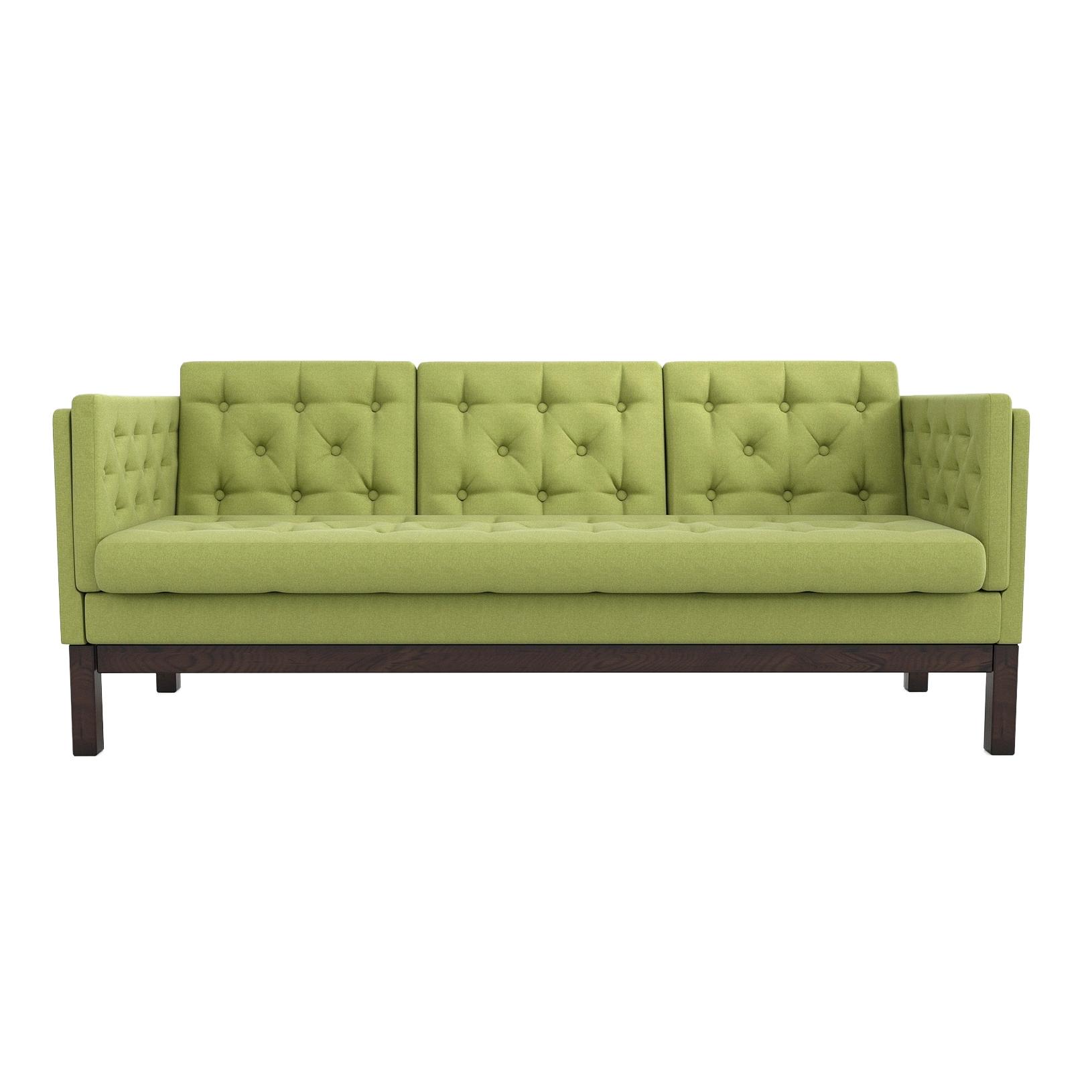 Фото - Диван AS Алана б 193x82x83 венге/зеленый диван as алана м 154x82x83 сосна коричневый