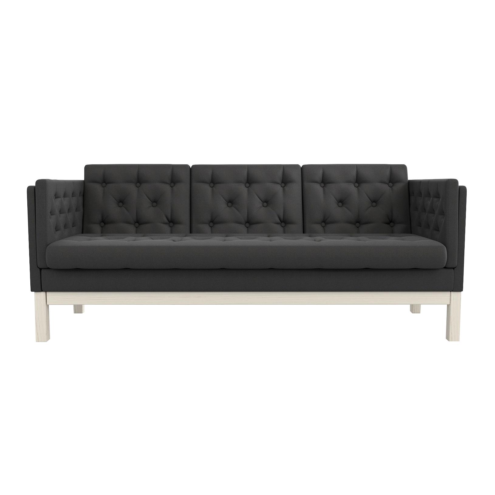 Фото - Диван AS Алана б 193x82x83 беленый дуб/черный диван as алана м 154x82x83 сосна коричневый