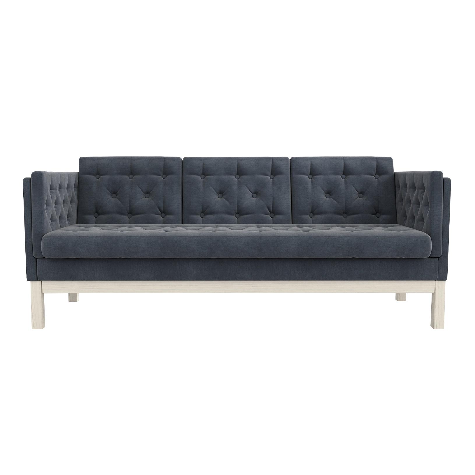 Фото - Диван AS Алана б 193x82x83 беленый дуб/серый диван as алана м 154x82x83 беленый дуб белый