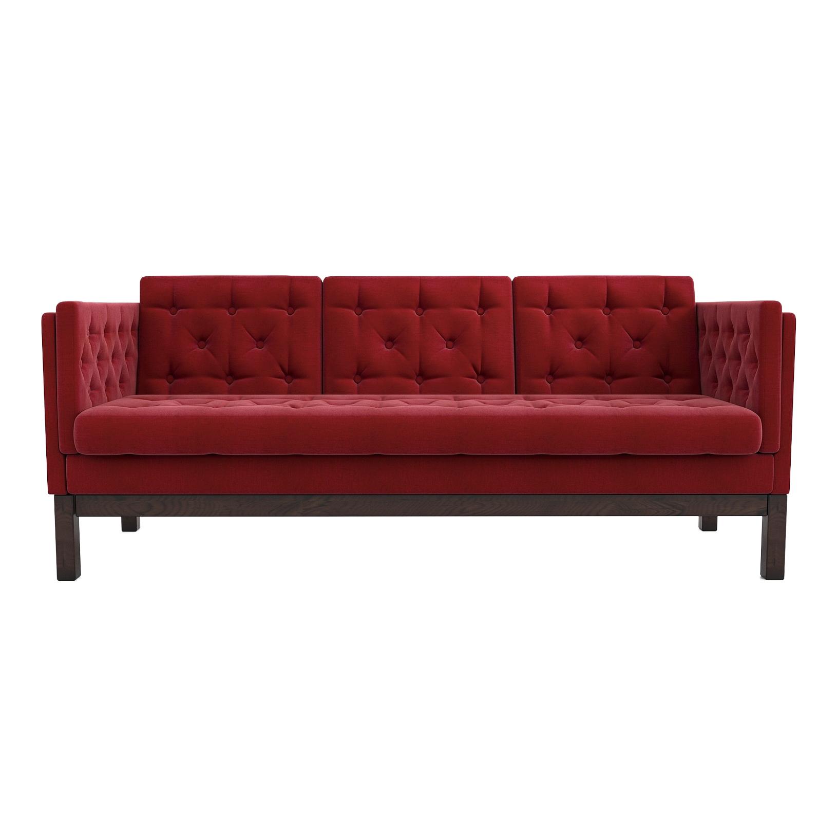 Фото - Диван AS Алана б 193x82x83 венге/красный диван as алана б 193x82x83 венге бейдж